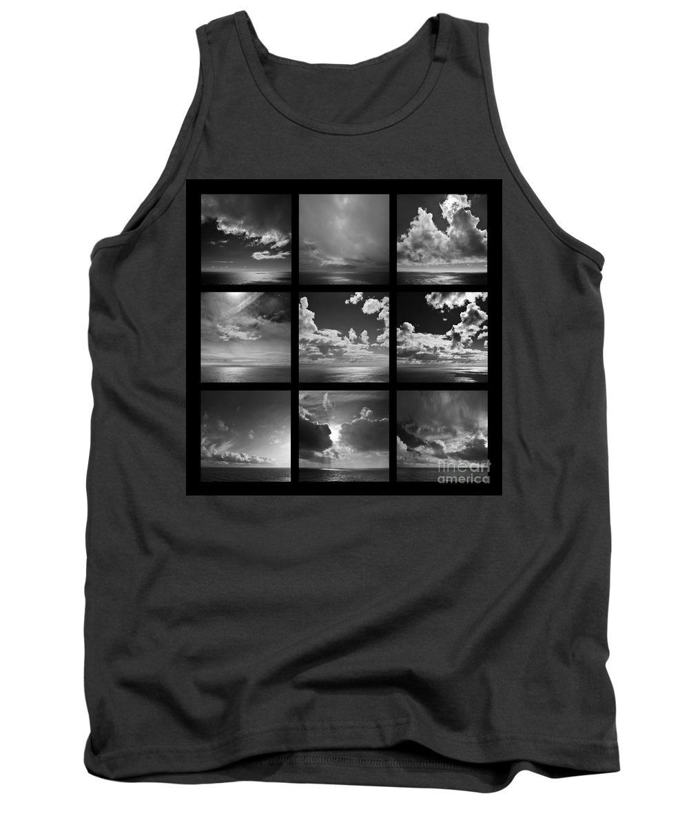 Horizons - Same Differences Tank Top featuring the photograph Horizons - Same Differences by Paul Davenport
