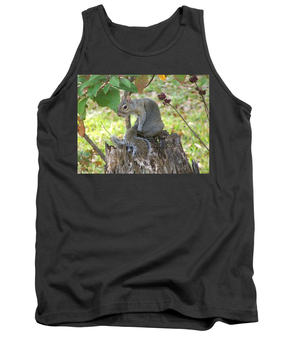 Nature Tank Top featuring the photograph I Should Have Used... by Peg Urban
