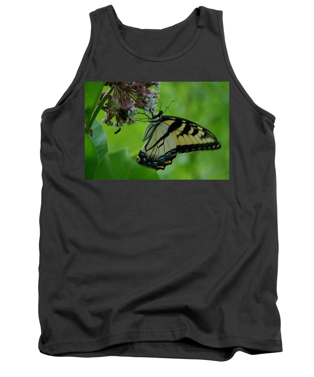 Jenny Gandert Tank Top featuring the photograph I Want To Be A Butterfly by Jenny Gandert
