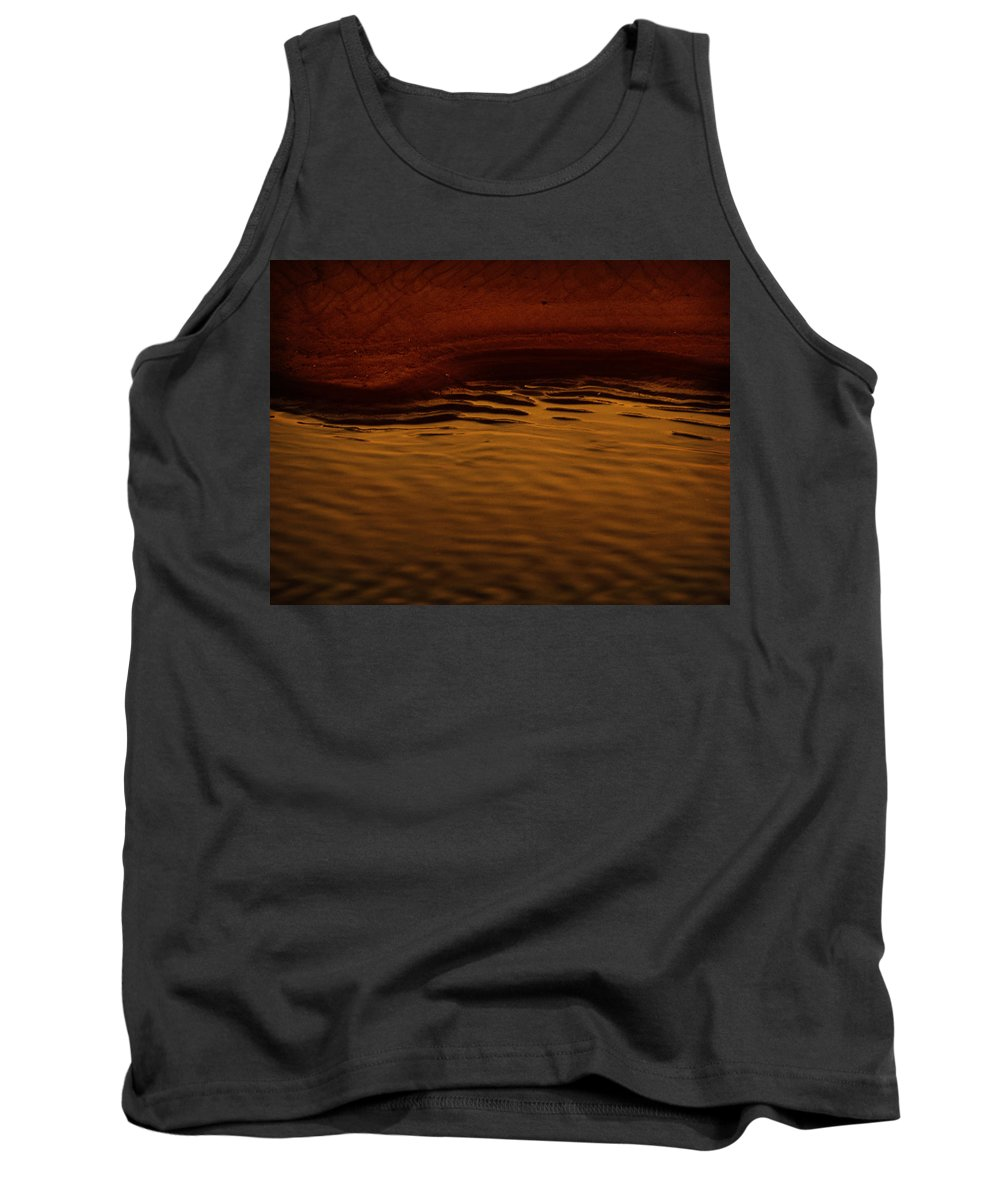 Abstract Tank Top featuring the photograph I Want To Wake Up Where You Are by Dana DiPasquale