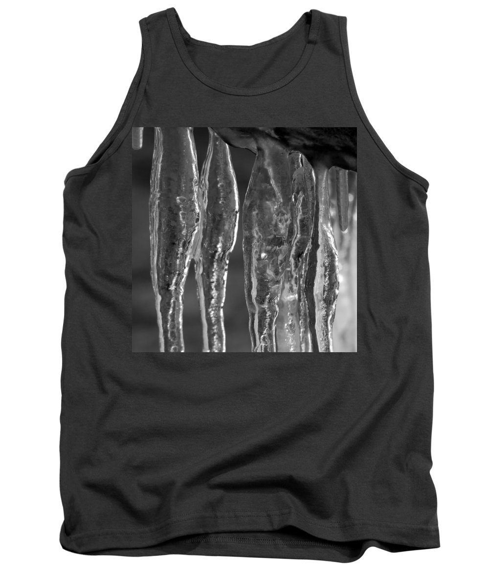 Ice Tank Top featuring the photograph Ice Ice Baby by Trish Hale