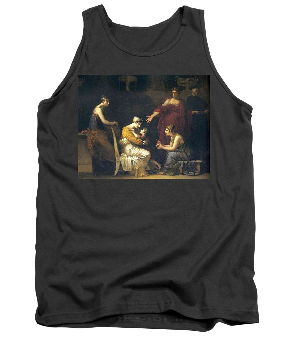 Religion Tank Top featuring the digital art img088 Pierre-Paul Prudhon by Eloisa Mannion