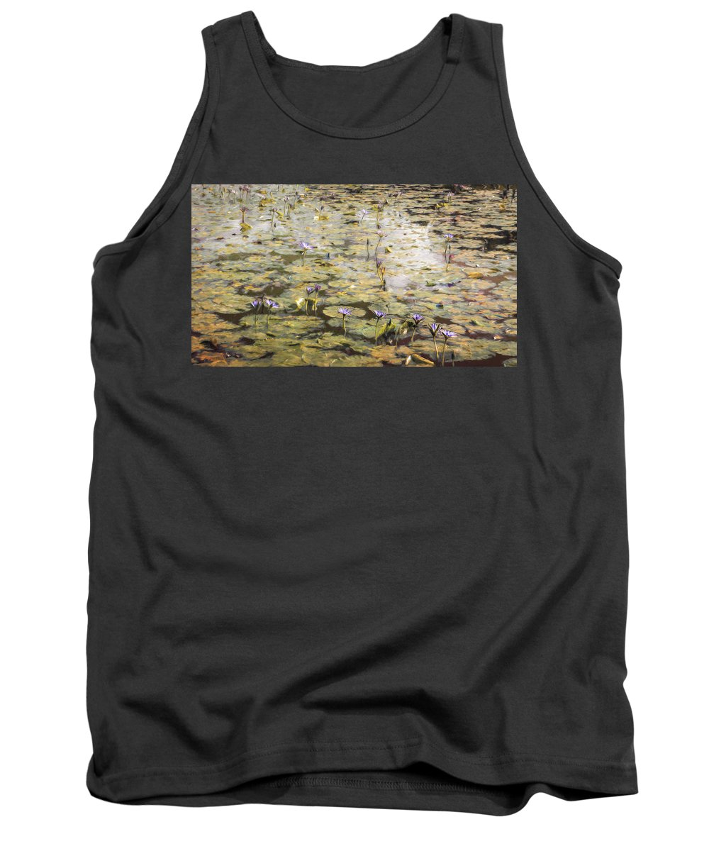 Giverny Tank Top featuring the photograph Impressions Of Giverny by Remi D Photography
