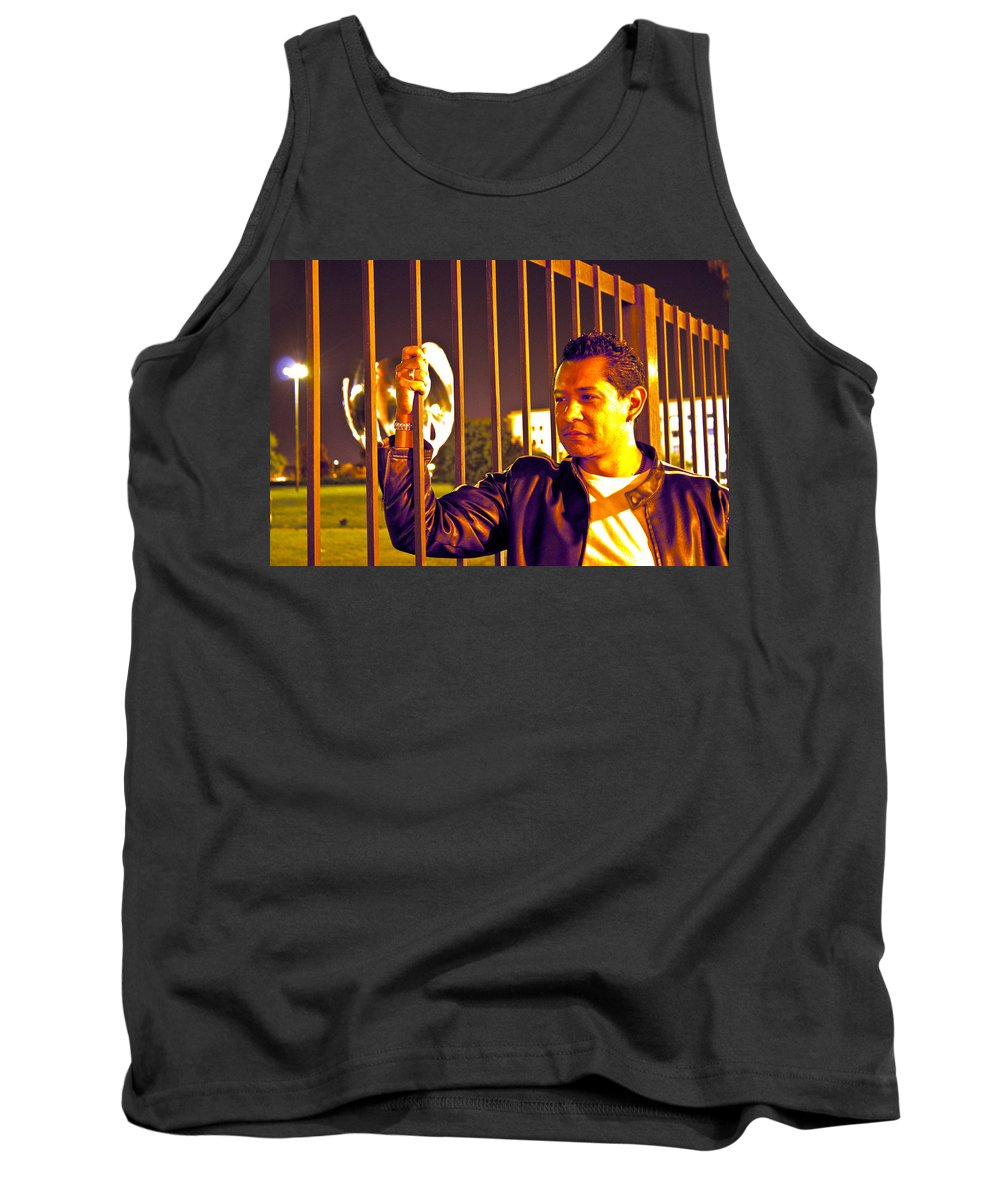 Tank Top featuring the photograph In Or Out by Francisco Colon