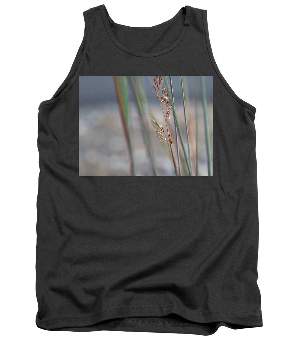 In The Company Of Blue Tank Top featuring the photograph In The Company Of Blue - by Julie Weber