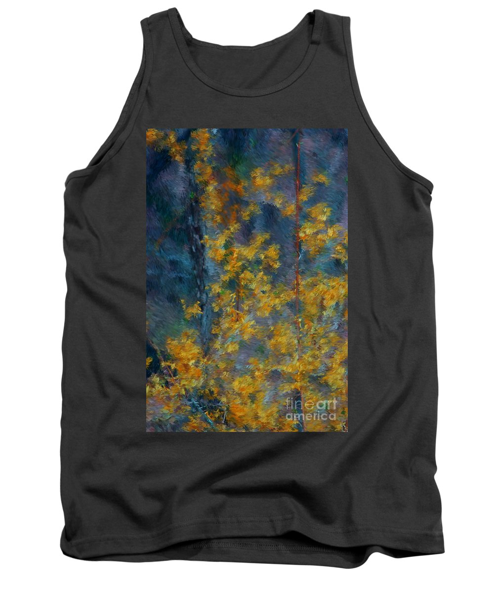 Tank Top featuring the photograph In The Woods by David Lane
