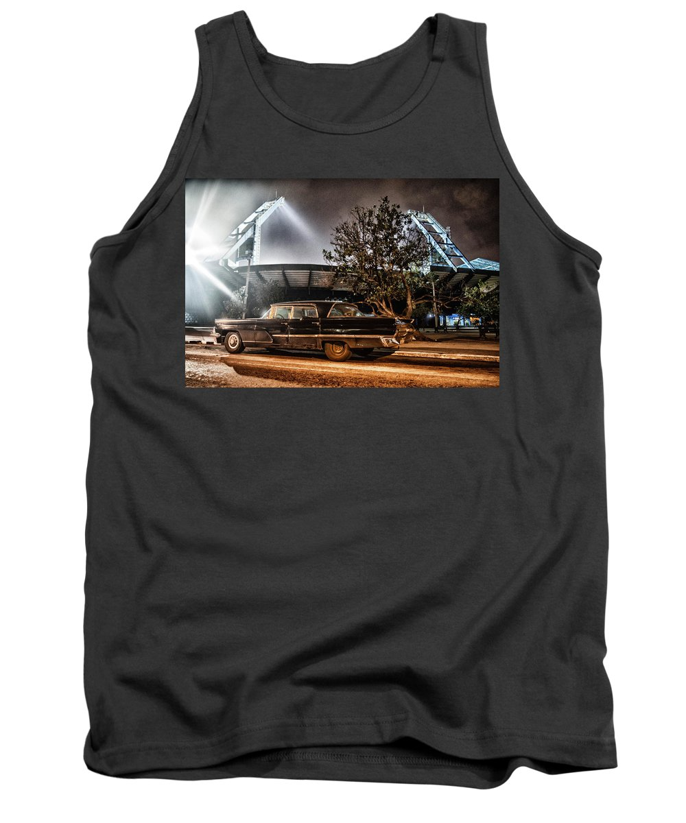 Cuba Tank Top featuring the photograph Industriales Revolution by Phil Selig