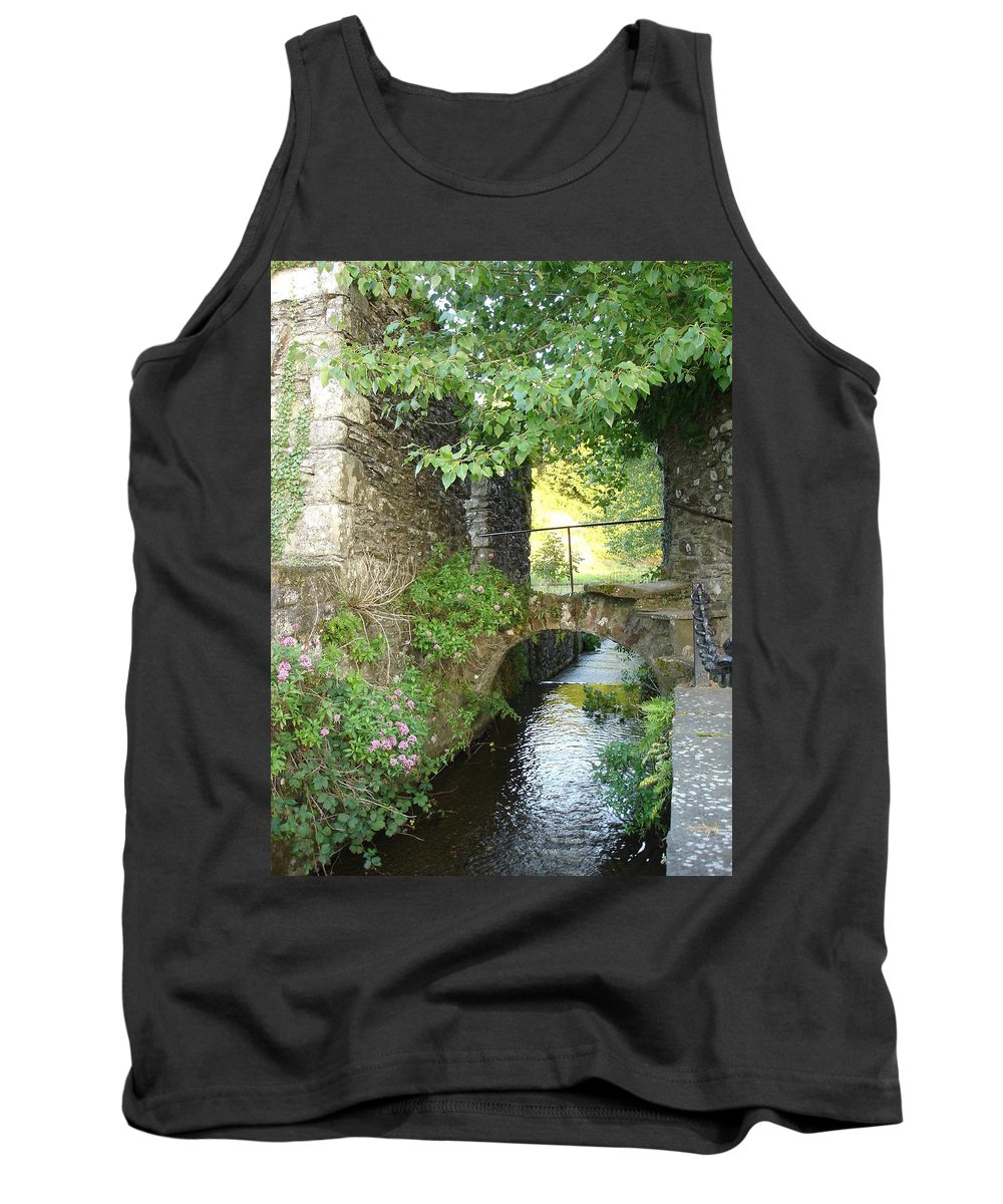 Inistioge Tank Top featuring the photograph Inistioge by Kelly Mezzapelle