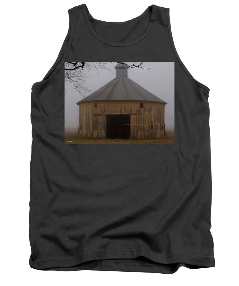 Inside These Four Walls Tank Top featuring the photograph Inside These Four Walls by Ed Smith