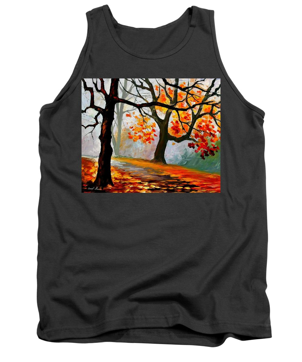 Landscape Tank Top featuring the painting Interplacement by Leonid Afremov