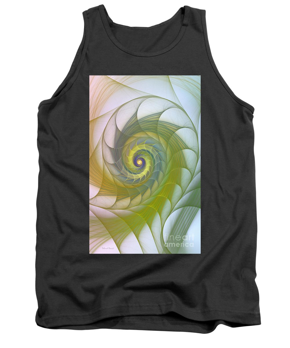 Fractal Tank Top featuring the photograph Into The Inner Kingdom by Deborah Benoit