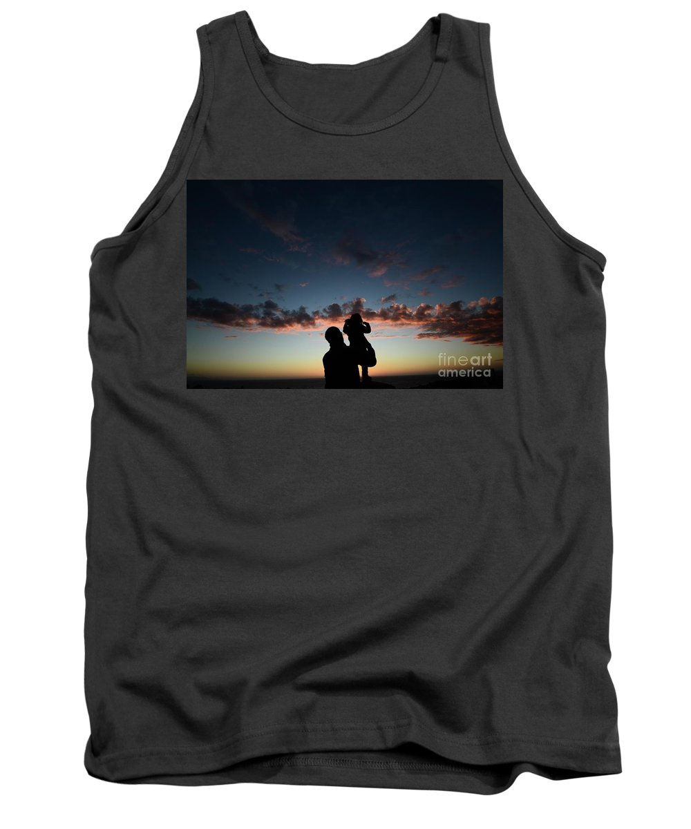 Sunset Tank Top featuring the photograph Intro To Wonder by Bruce Chevillat