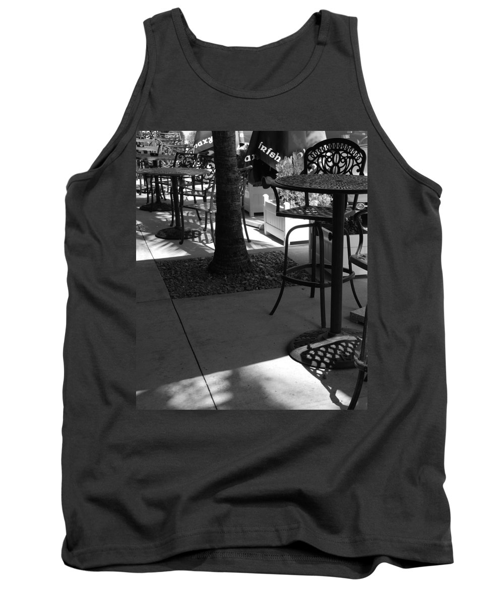 Black And White Tank Top featuring the photograph Irish Unbrella by Rob Hans