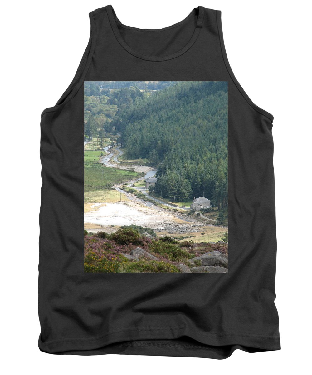 Ireland Tank Top featuring the photograph Irish Valley by Kelly Mezzapelle