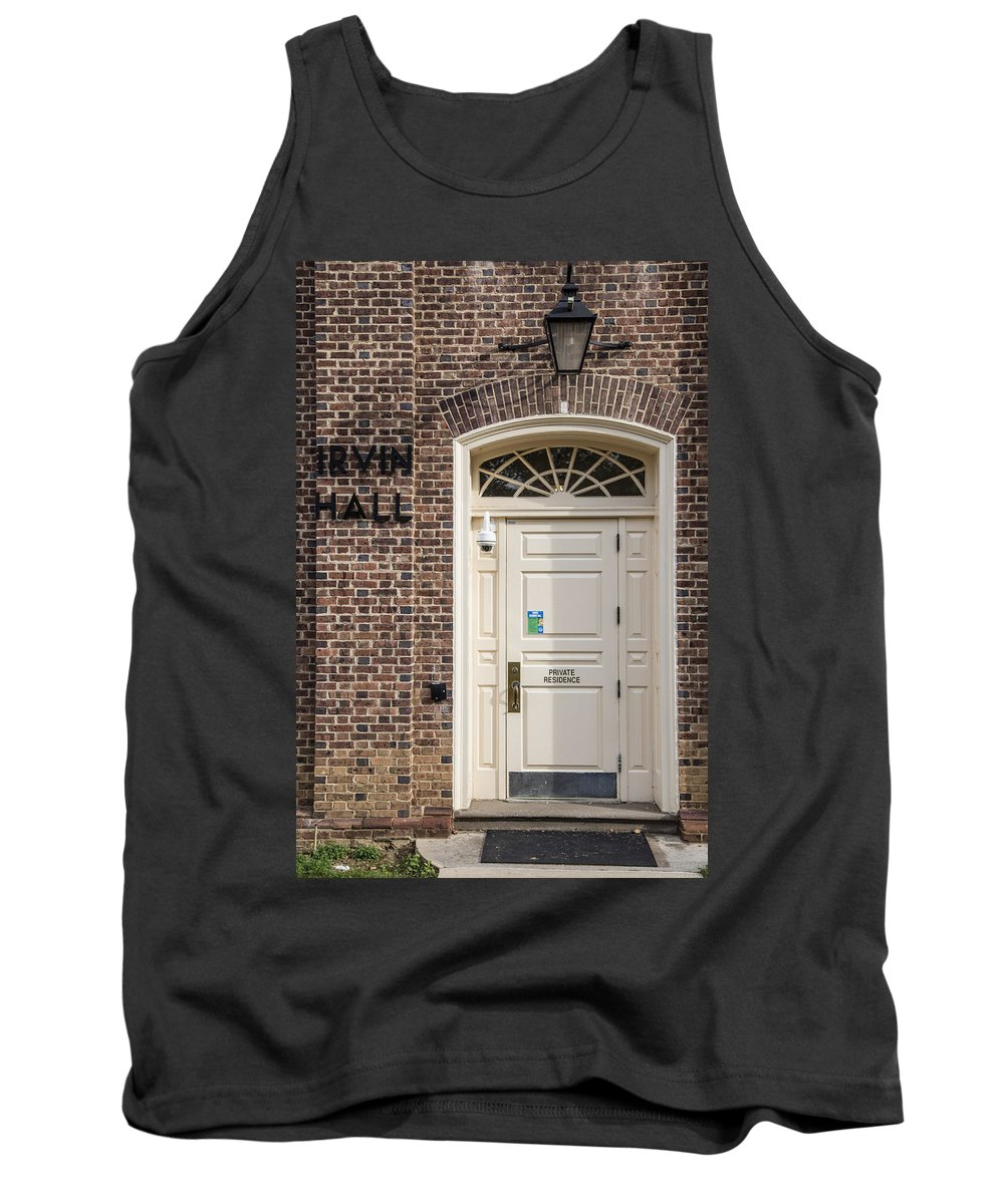 eb448c22318895 Penn State Tank Top featuring the photograph Irvin Hall Penn State by John  McGraw