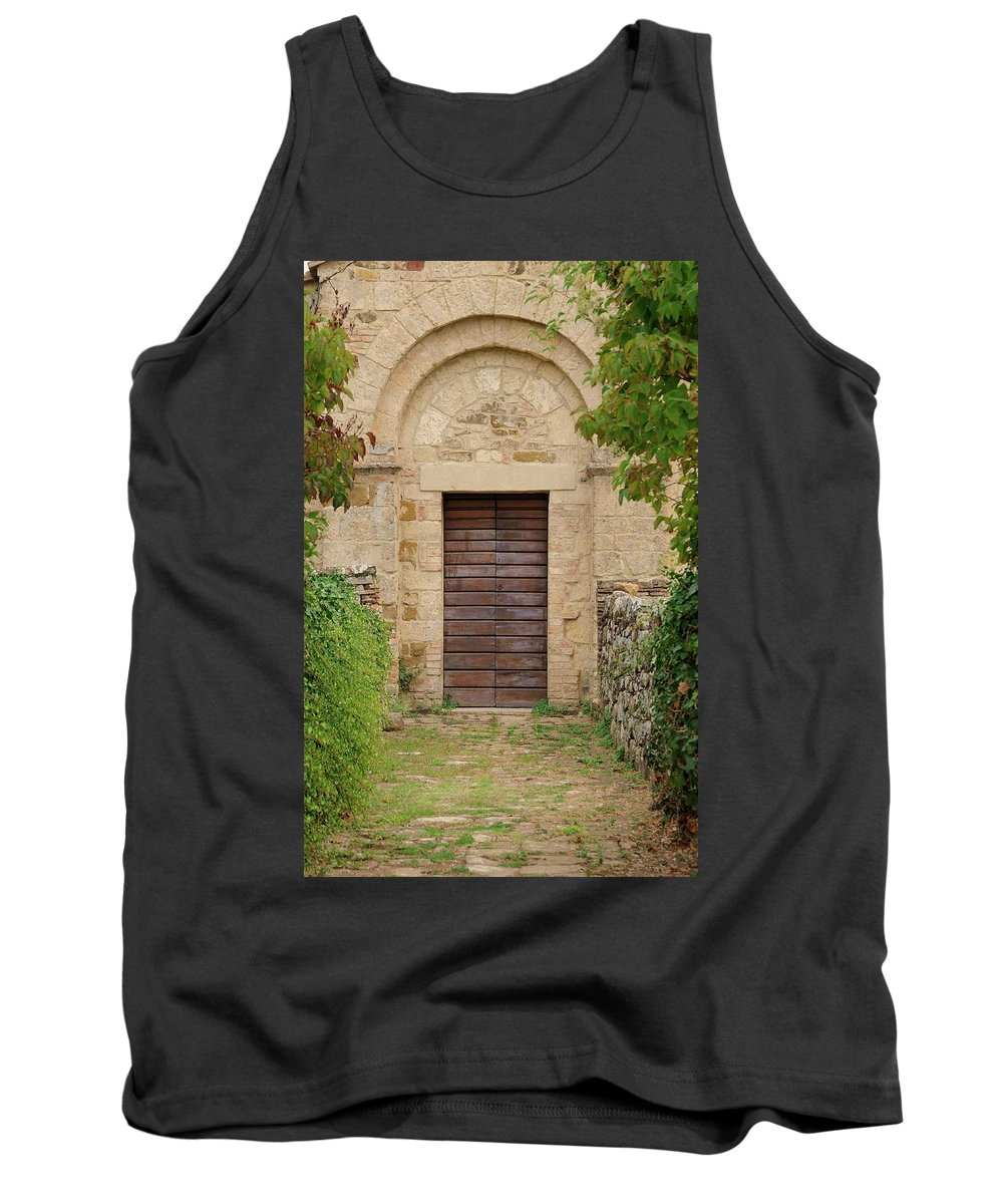 Italy Tank Top featuring the photograph Italy - Door Twenty Five by Jim Benest