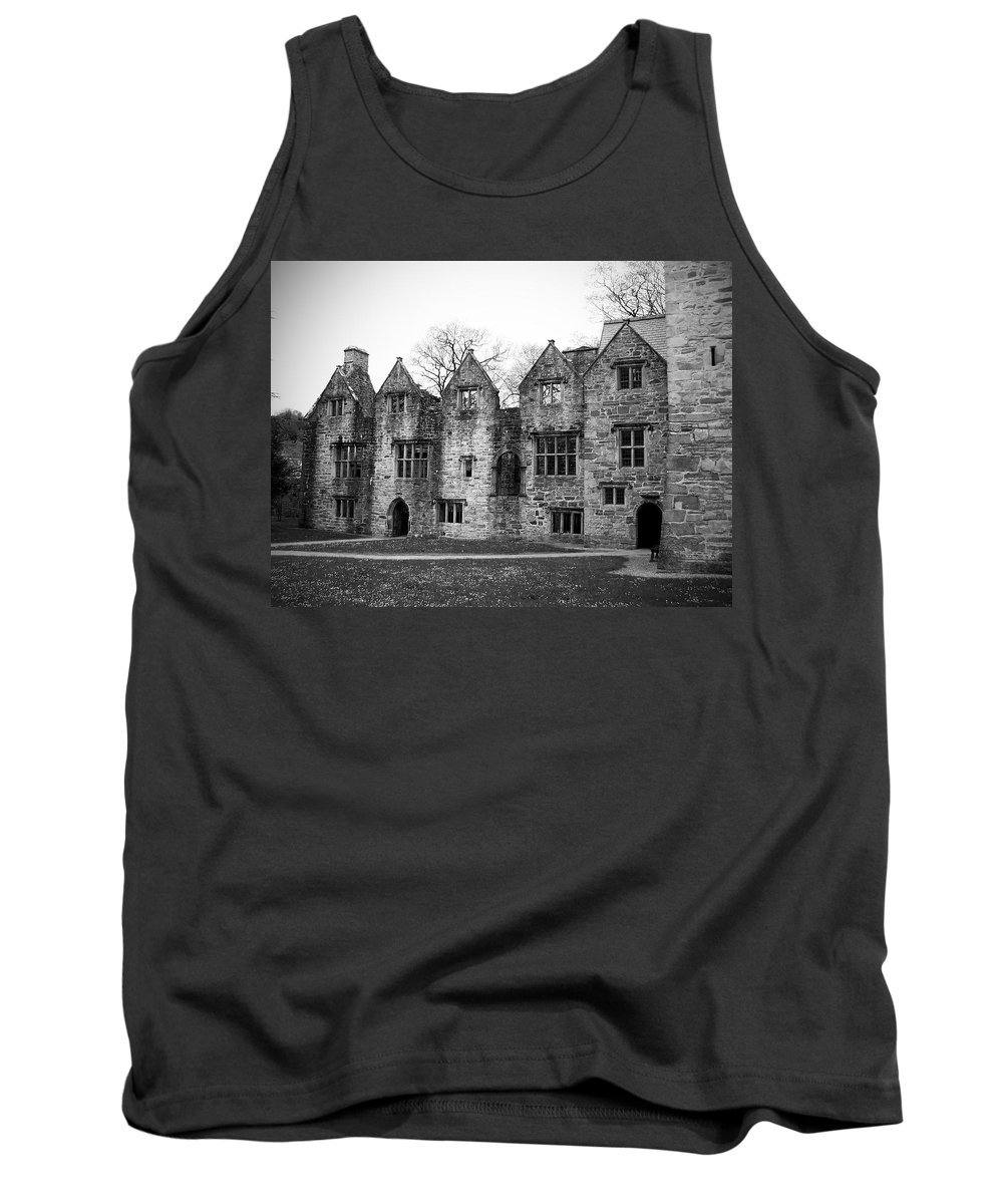 Irish Tank Top featuring the photograph Jacobean Wing At Donegal Castle Ireland by Teresa Mucha