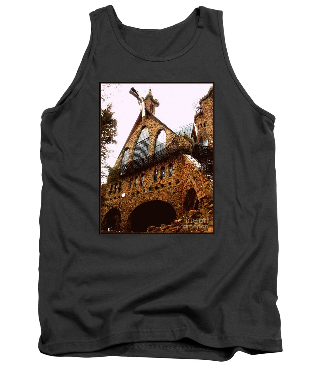 Tank Top featuring the photograph James Bishop's Castle by Kelly Awad