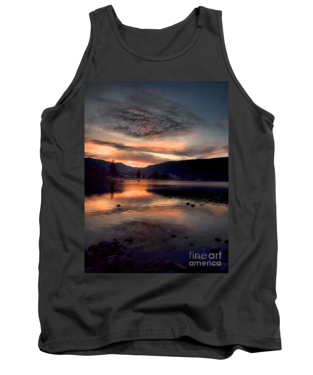 Clouds Tank Top featuring the photograph January 16 2010 by Tara Turner