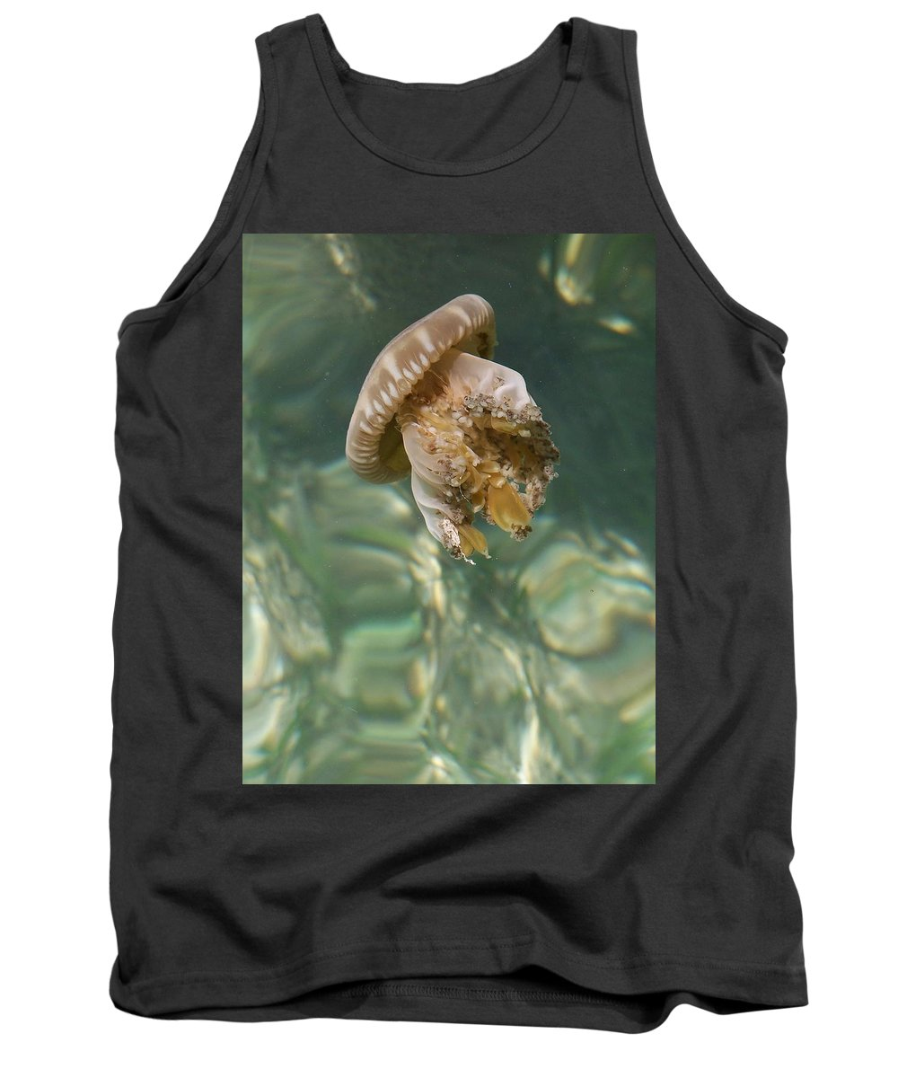 Jelly Tank Top featuring the photograph Jelly Belly by Gale Cochran-Smith