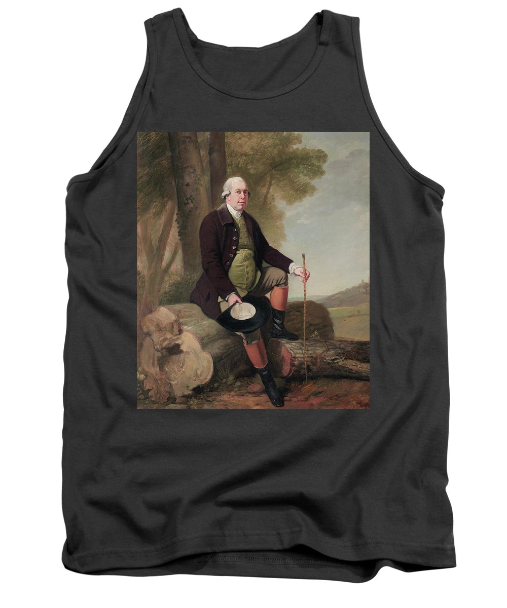 18th Century Art Tank Top featuring the painting Jervoise Clarke-jervoise by Francis Wheatley