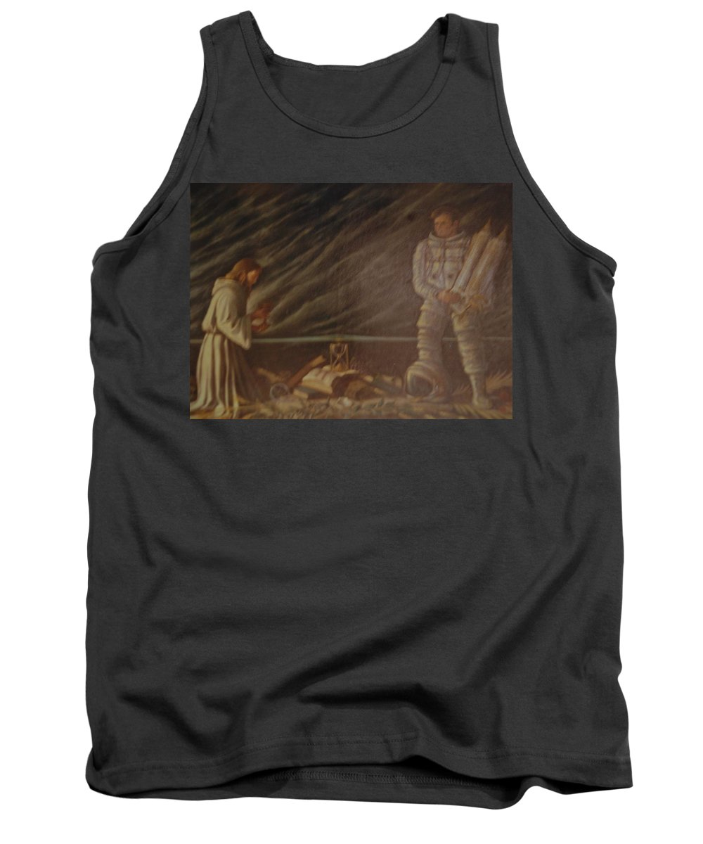 Jesus Tank Top featuring the photograph Jews In Space by Rob Hans