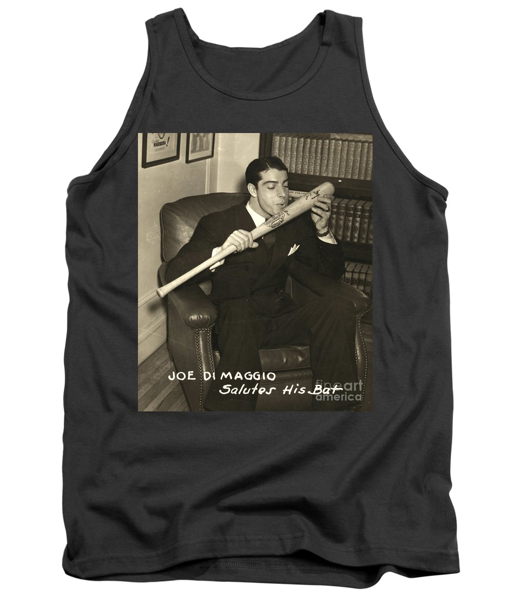 1941 Tank Top featuring the photograph Joe Dimaggio (1914-1999) by Granger