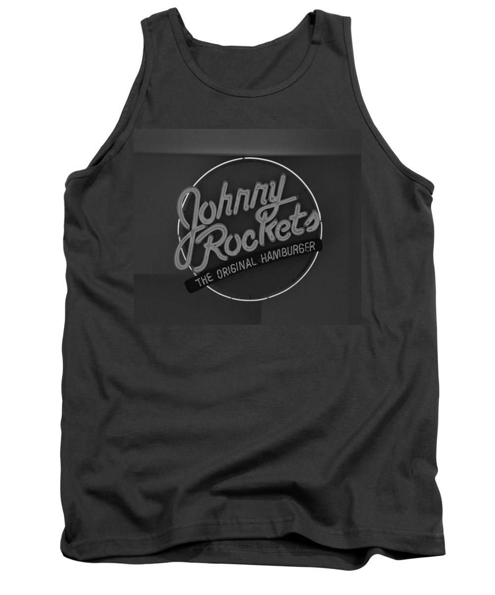 Macro Tank Top featuring the photograph Johnny Rockets by Rob Hans