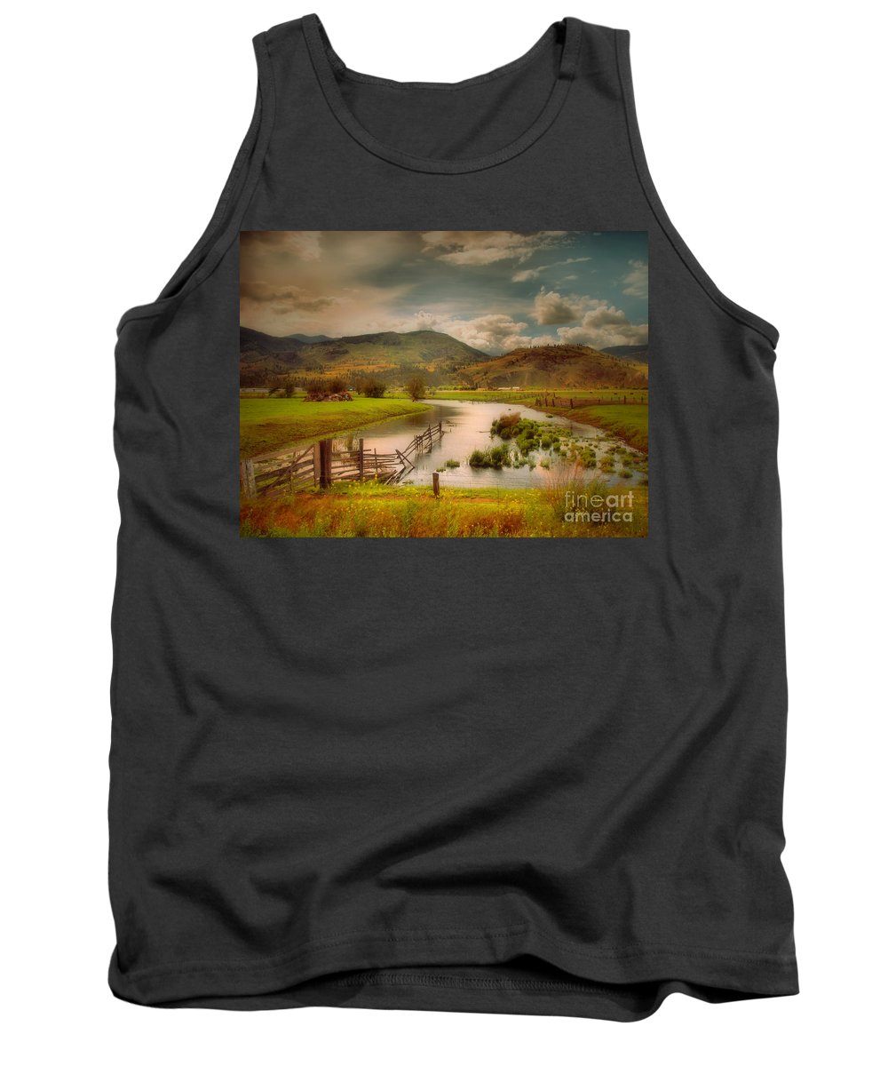 Landscape Tank Top featuring the photograph June 1 2010 by Tara Turner