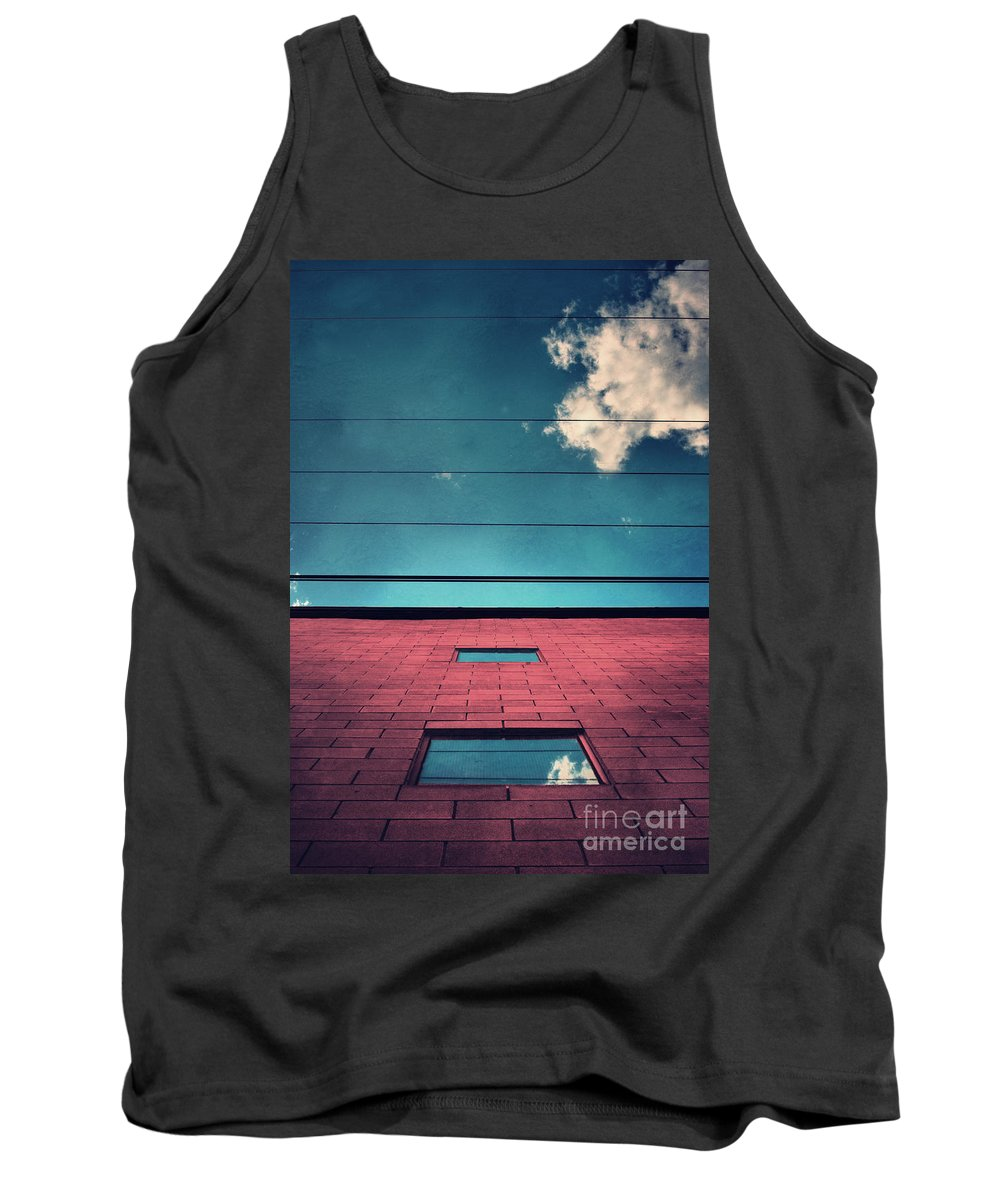 Windows Tank Top featuring the photograph June 25 2010 by Tara Turner