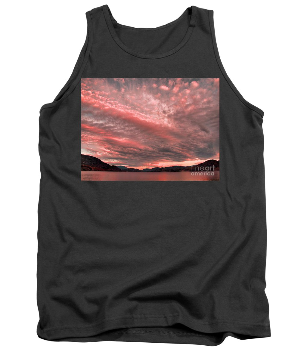 Pink Tank Top featuring the photograph June 28 2010 by Tara Turner