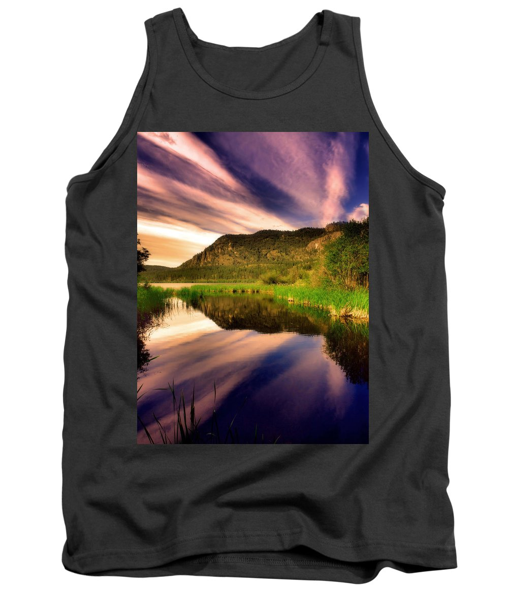Lake Tank Top featuring the photograph June 30 2010 by Tara Turner