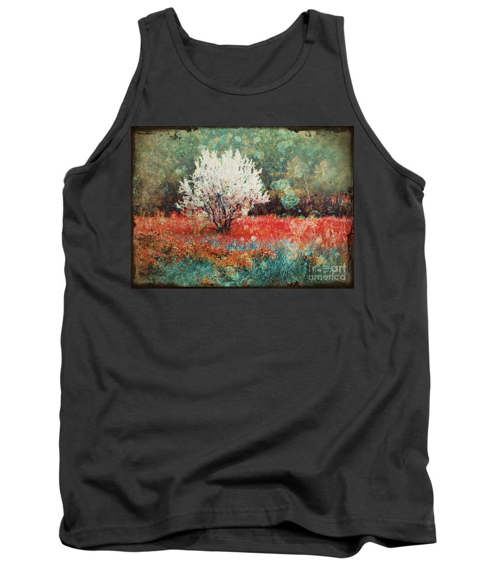 Tree Tank Top featuring the photograph June 4 2010 by Tara Turner