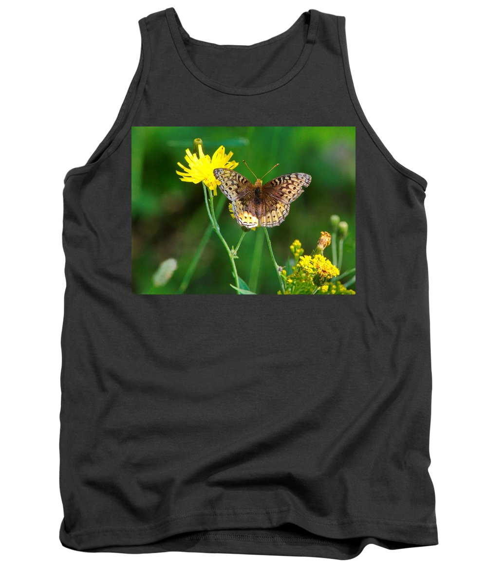 Nature Tank Top featuring the photograph Just Us Flowers by Crystal Massop