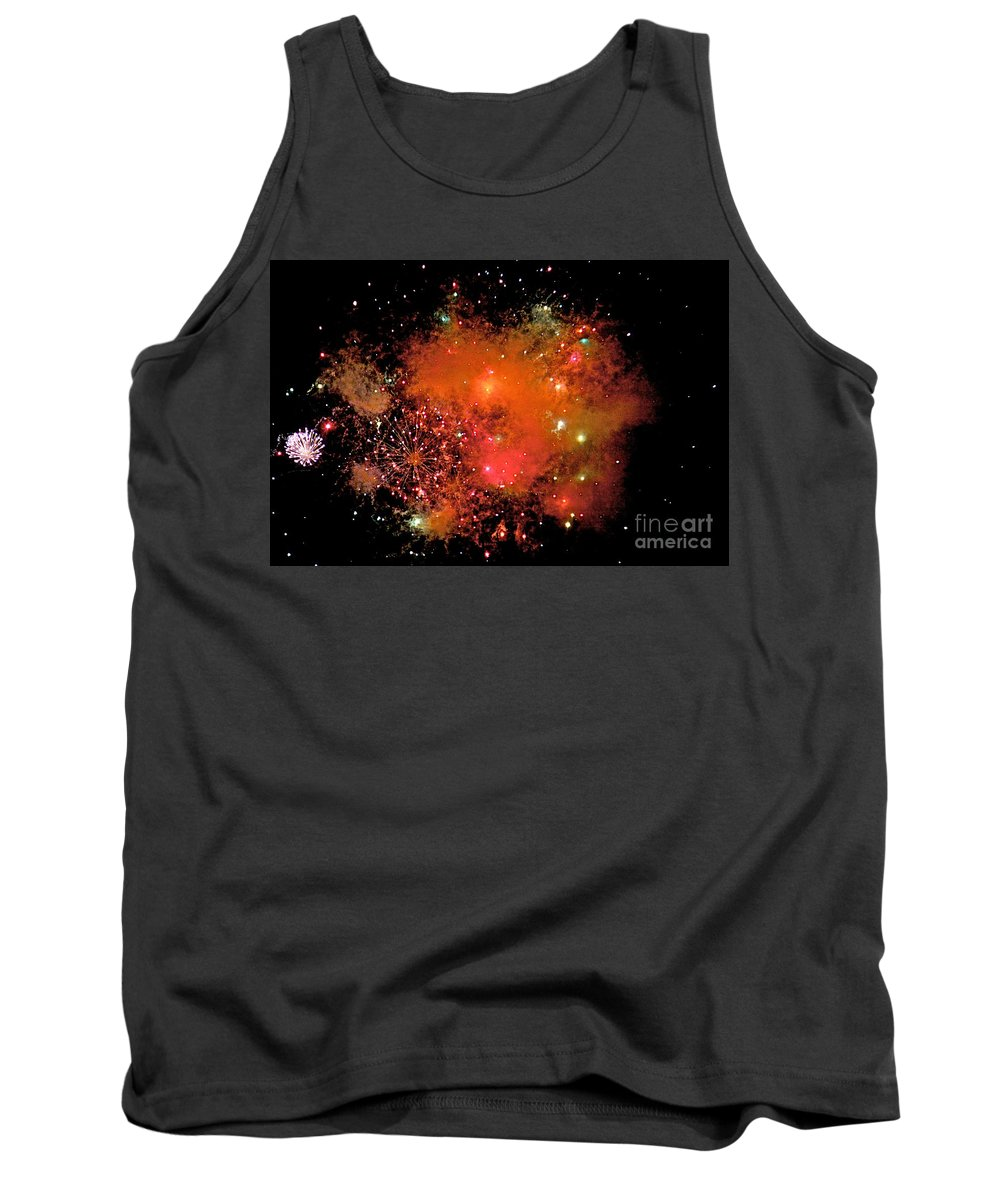 Fire Works Tank Top featuring the photograph Ka Boom by Robert Pearson