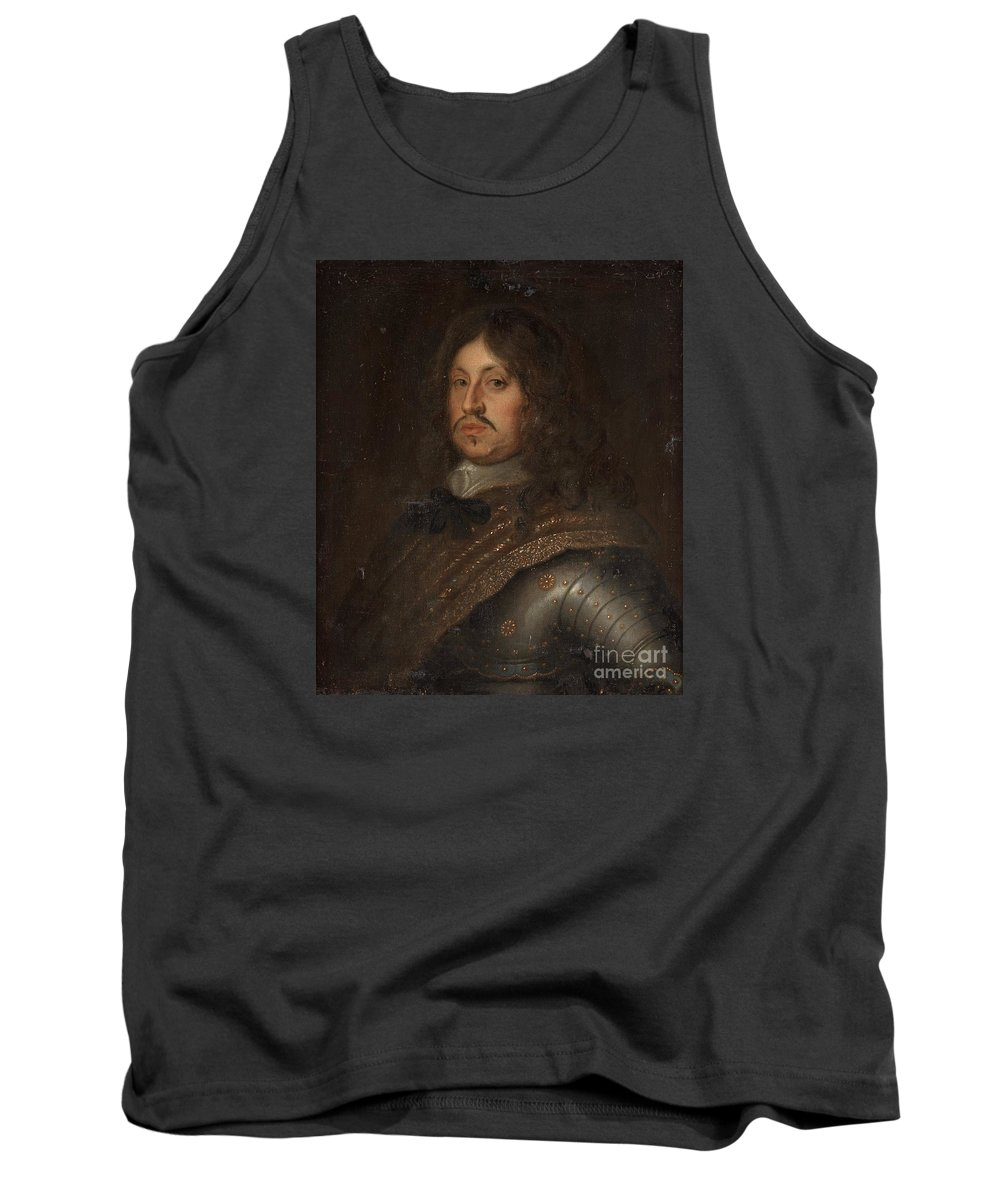 David Beck Follower Of Tank Top featuring the painting Karl X Gustav by Celestial Images