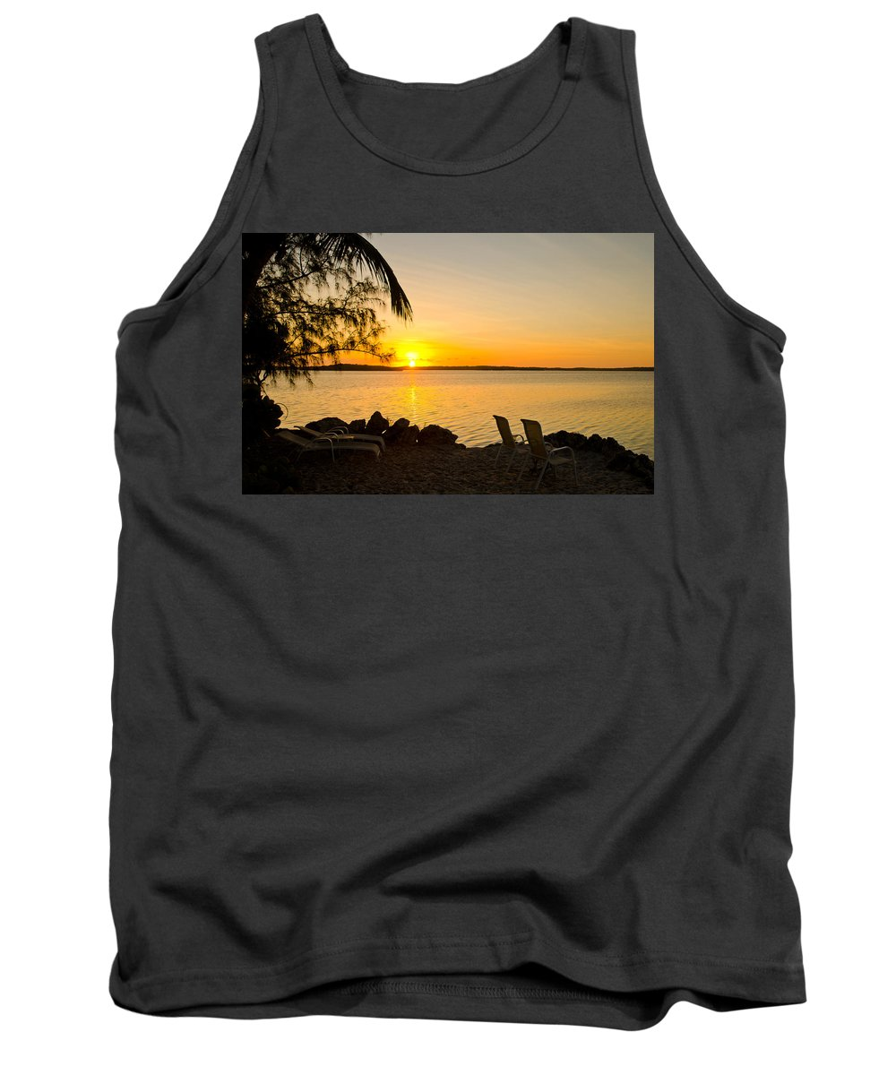 Sunrise Tank Top featuring the photograph Key Largo Sunrise by Chris Thaxter