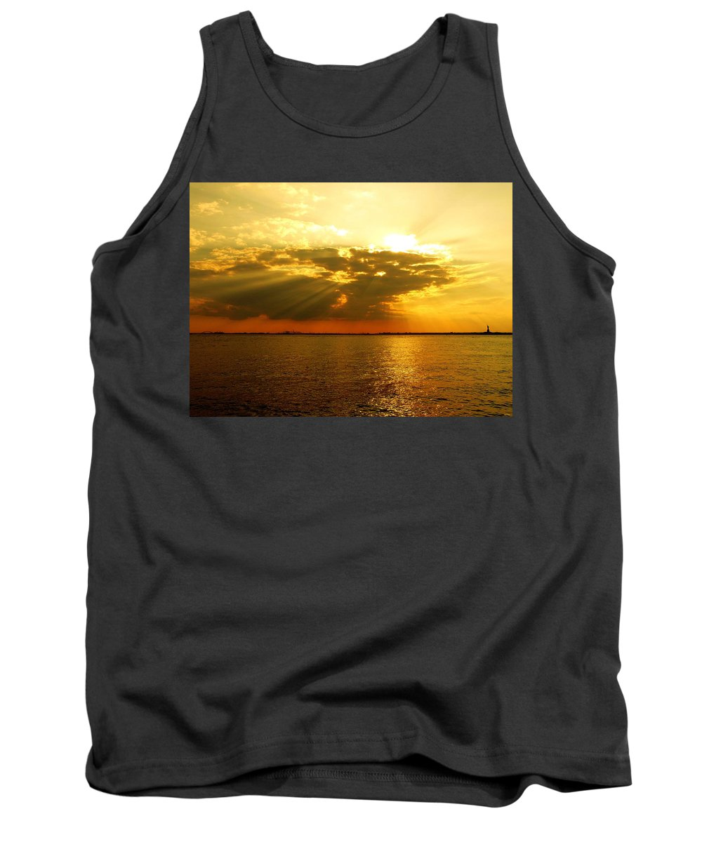 Gold Tank Top featuring the photograph Knocking On Heaven's Door by Kendall Eutemey
