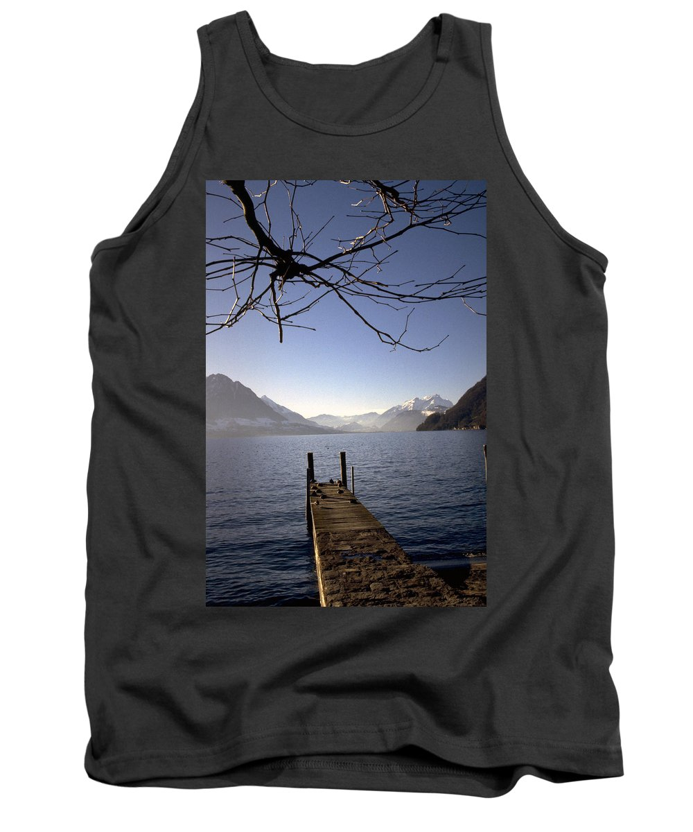 Lake Lucerne Tank Top featuring the photograph Lake Lucerne by Flavia Westerwelle