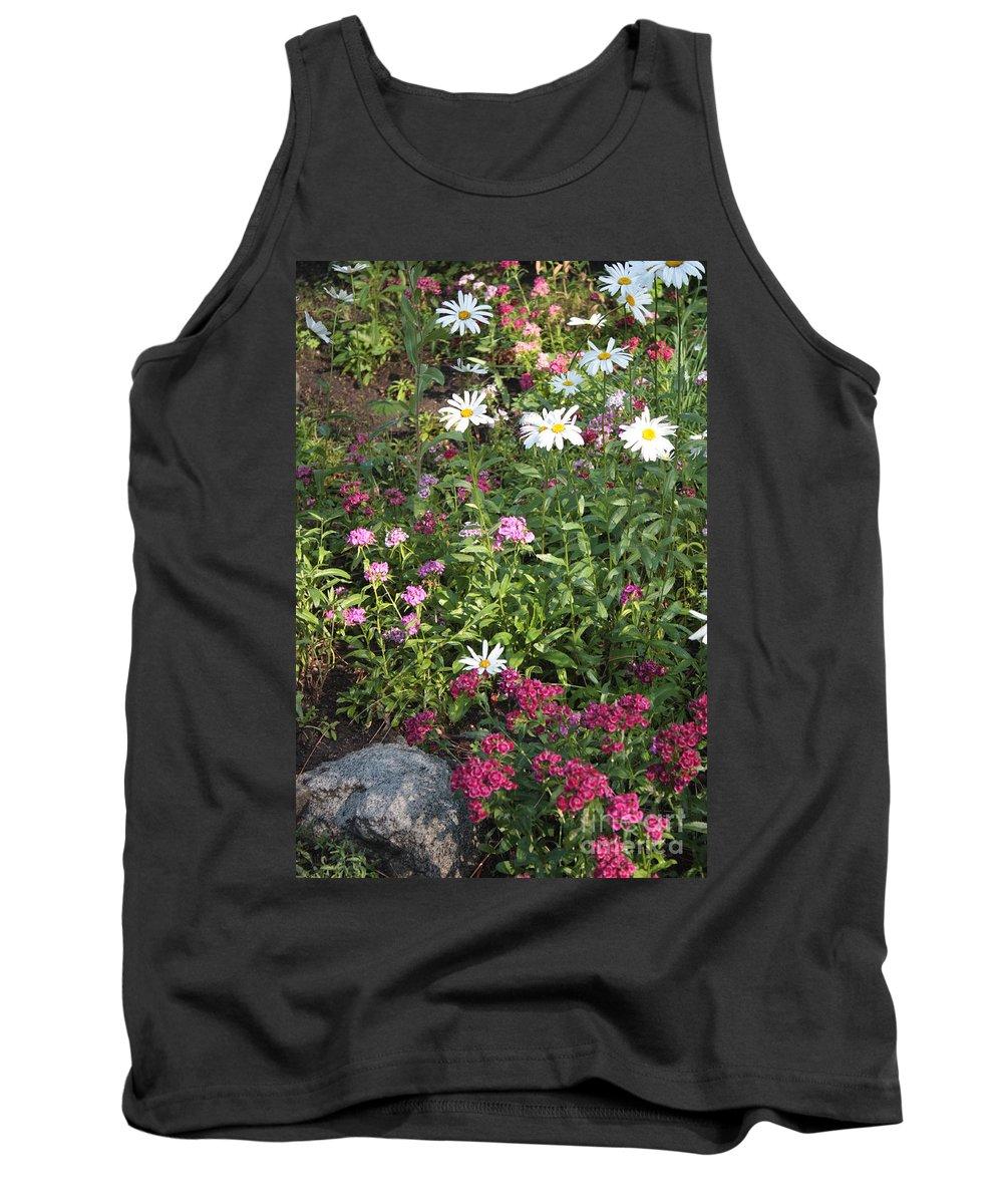 Garden Tank Top featuring the photograph Lake Tahoe Garden by Carol Groenen