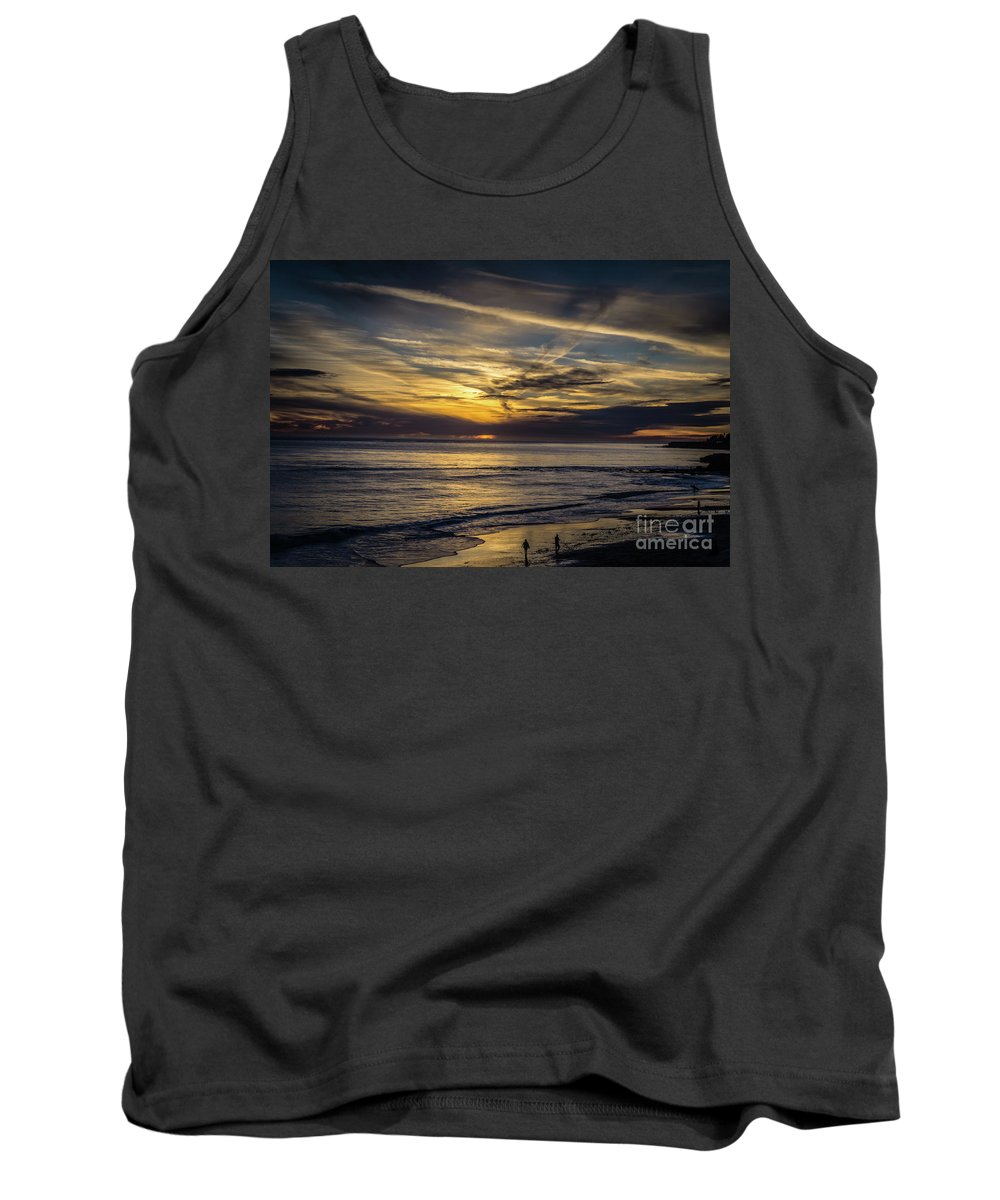 Tank Top featuring the photograph Lands End Sun Set by Albert Munoz Jr
