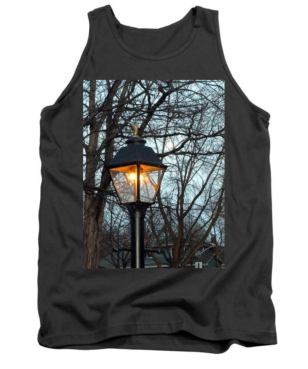 Lantern Tank Top featuring the photograph Lantern by Elly Potamianos