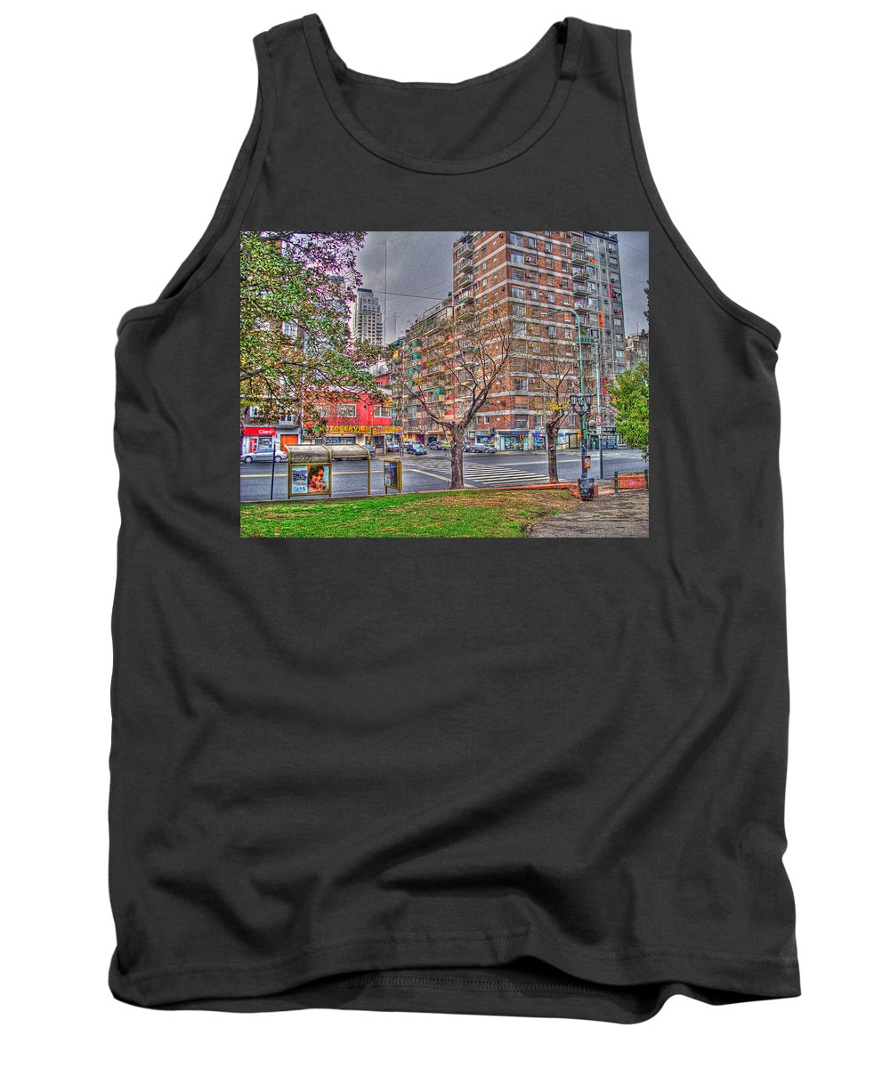 Street Tank Top featuring the photograph Las Heras by Francisco Colon
