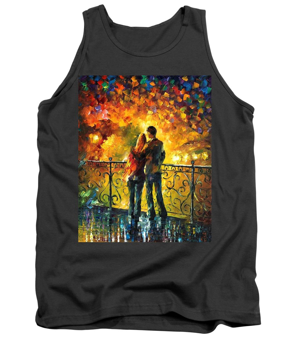 Afremov Tank Top featuring the painting Last Date by Leonid Afremov