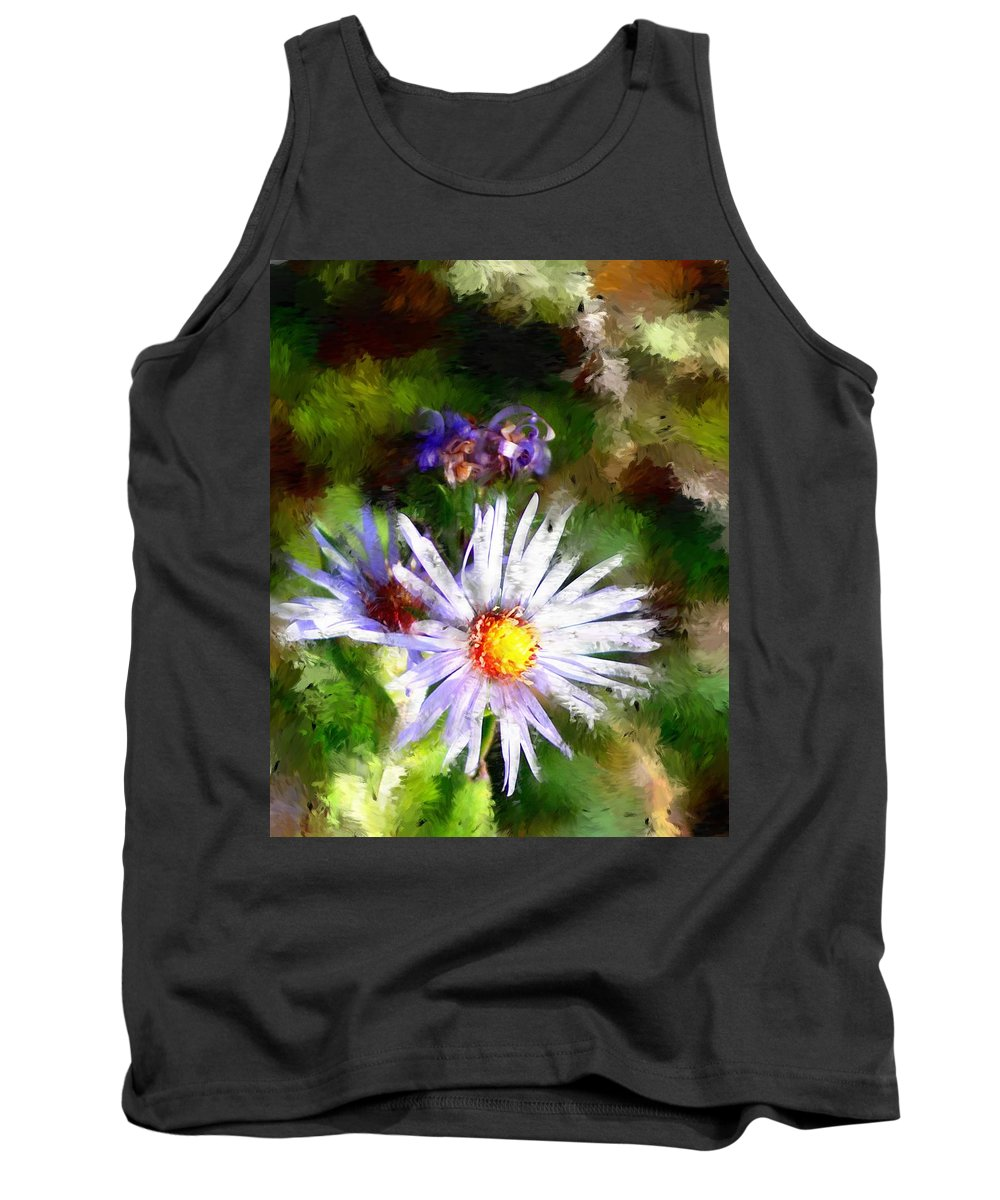 Flower Tank Top featuring the photograph Last Rose Of Summer by David Lane