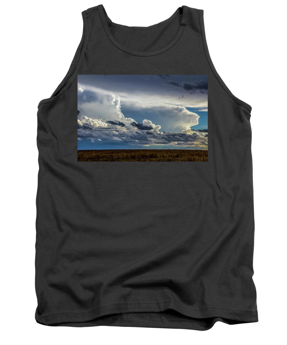 Nebraskasc Tank Top featuring the photograph Last Storm Chase Of 2017 004 by NebraskaSC