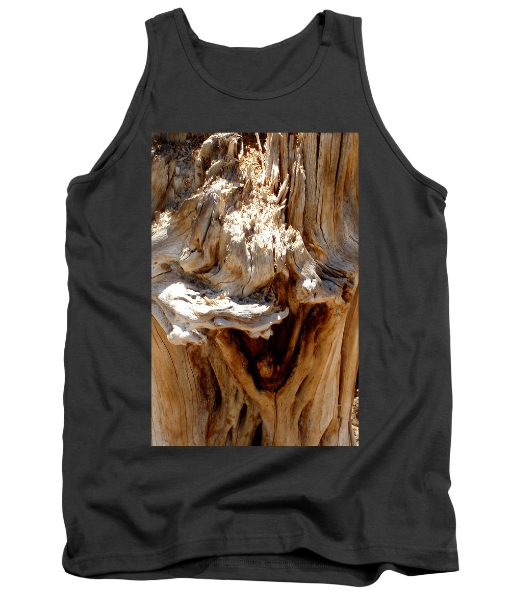 Tree Tank Top featuring the photograph Laughing Tree by Wayne Potrafka