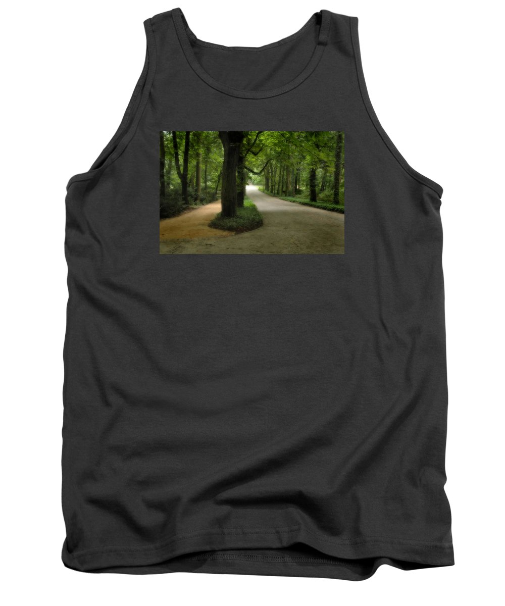 Poland Tank Top featuring the photograph Lazienki Park Warsaw Diffused by Michael Ziegler