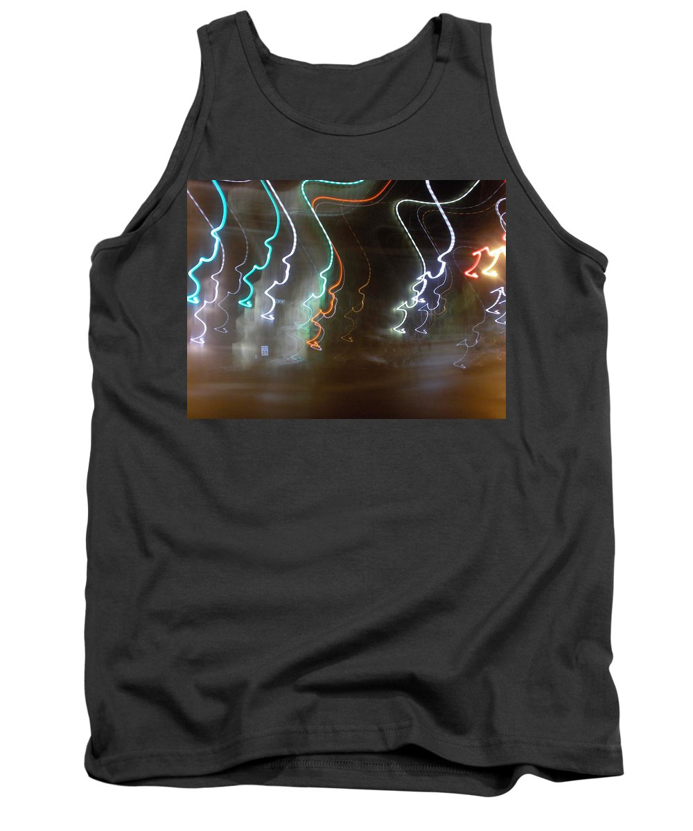 Photograph Tank Top featuring the photograph Lemon Street by Thomas Valentine