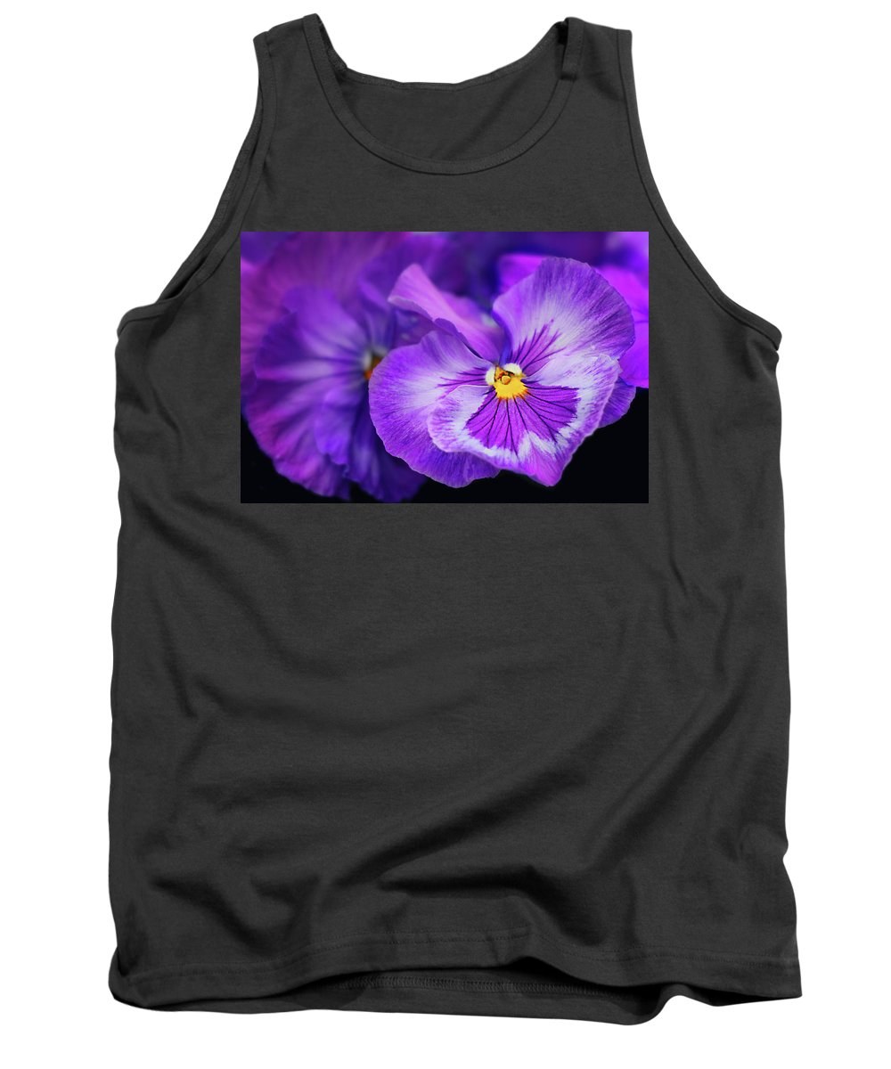 Violet Tank Top featuring the photograph Letters To Violet by Iryna Goodall